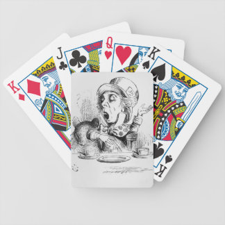 The Mad Hatter, illustration from 'Alice's Playing Cards
