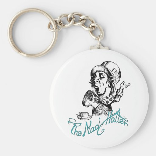 The Mad Hatter Key Chain
