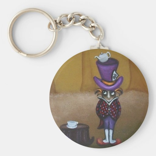 The Mad Hatter Keychain