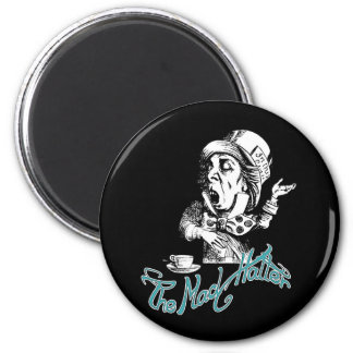 The Mad Hatter Refrigerator Magnets