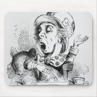 The Mad Hatter Mouse Pad