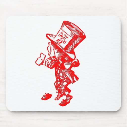 The Mad Hatter Mousepads