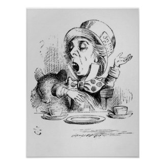 The Mad Hatter Print