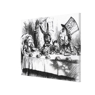 The Mad Hatter s Tea Party Gallery Wrapped Canvas
