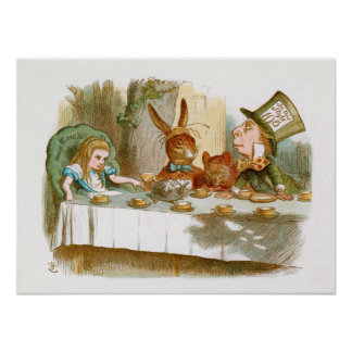 The Mad Hatter s Tea Party Posters