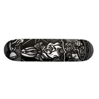 The MAD HATTER Skateboard Deck