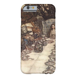 The Mad Hatter Tea Party by Arthur Rackham Barely There iPhone 6 Case