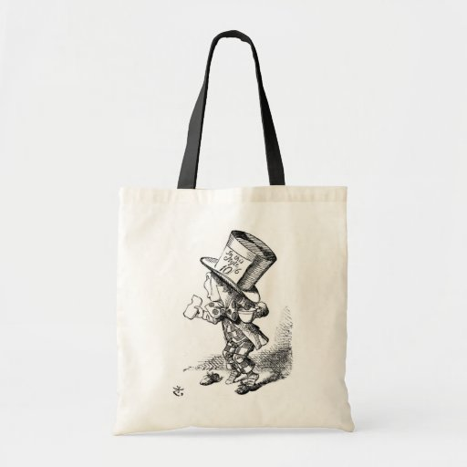 The Mad Hatter Tote Bags