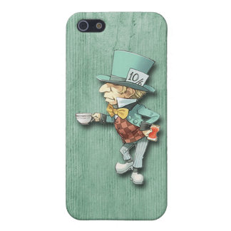 The Mad Hatter with a Cup of Tea Case For iPhone SE/5/5s