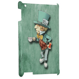 The Mad Hatter with a Cup of Tea Cover For The iPad 2 3 4