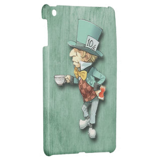 The Mad Hatter with a Cup of Tea iPad Mini Covers