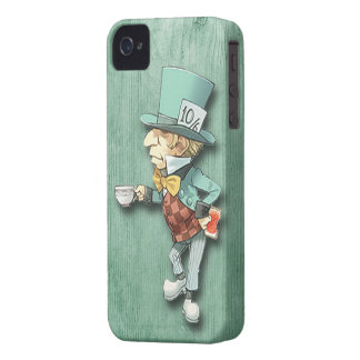 The Mad Hatter with a Cup of Tea iPhone 4 Case