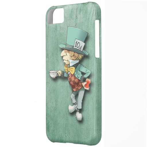 The Mad Hatter with a Cup of Tea iPhone 5C Cover