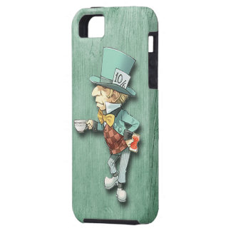 The Mad Hatter with a Cup of Tea iPhone SE/5/5s Case