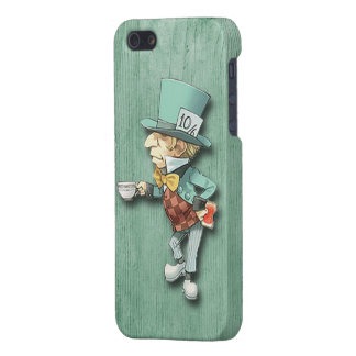 The Mad Hatter with a Cup of Tea iPhone SE/5/5s Cover