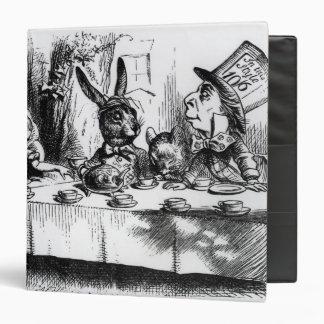 The Mad Hatter's Tea Party Vinyl Binders