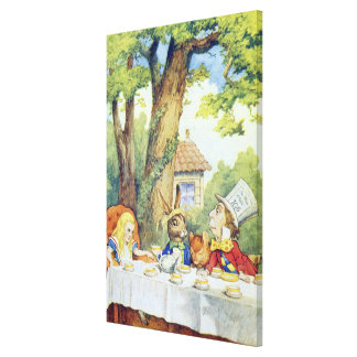 The Mad Hatter's Tea Party Gallery Wrap Canvas