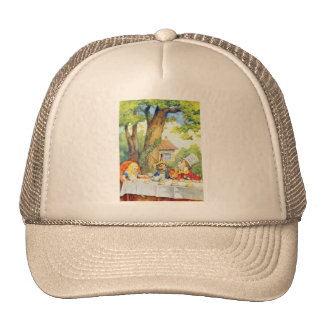 The Mad Hatters Tea Party Full Color Mesh Hats