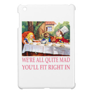 The Mad Hatter's Tea Party in Alice in Wonderland iPad Mini Cover