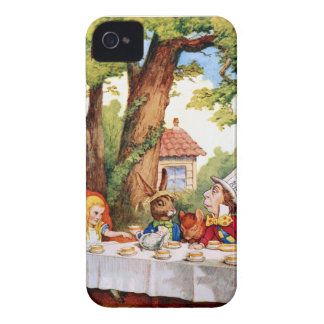 The Mad Hatter's Tea Party in Wonderland iPhone 4 Case-Mate Case