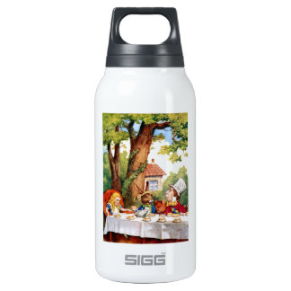 The Mad Hatter's Tea Party in Wonderland Thermos Water Bottle
