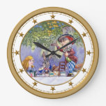 The Mad Hatter's Tea Party in Wonderland Wallclock