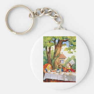 THE MAD HATTER'S TEA PARTY KEYCHAIN