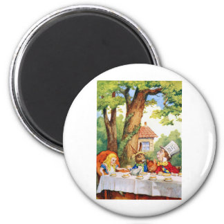 THE MAD HATTER'S TEA PARTY MAGNET
