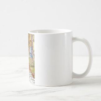 THE MAD HATTER'S TEA PARTY CLASSIC WHITE COFFEE MUG