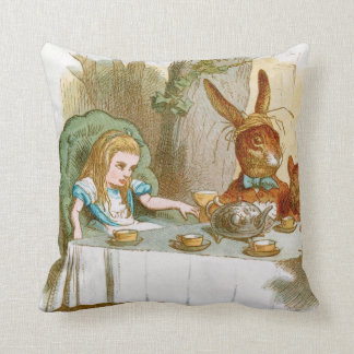 The Mad Hatter's Tea Party Pillows