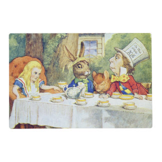 The Mad Hatter's Tea Party Placemat