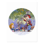 THE MAD HATTERS TEA PARTY POSTCARD