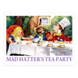 THE MAD HATTER'S TEA PARTY POSTCARDS