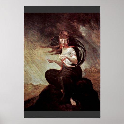 The Mad Kate By Füssli Johann Heinrich (Best Quali Poster