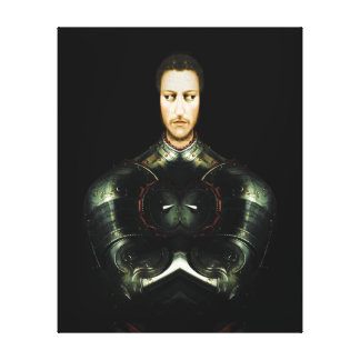 The Mad Knight Canvas Print