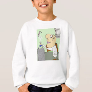 The Mad Scientist Creates Something New Sweatshirt