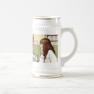 The Mad Tea Party Beer Stein