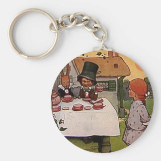 The Mad Tea Party Keychain