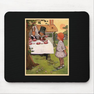 The Mad Tea Party Mouse Pad