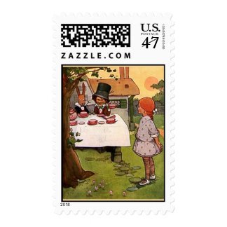 The Mad Tea Party Postage