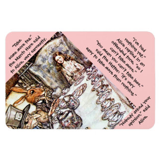 The Mad Tea Party Rectangular Photo Magnet