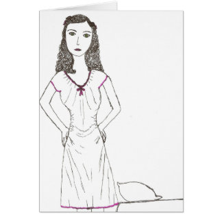 The Mad wife Greeting Card