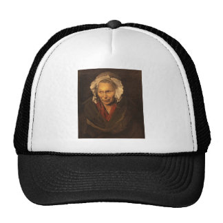 The Mad Woman by Jean Louis Theodore Gericault Trucker Hat