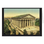 The Madeleine, Paris, France classic Photochrom Greeting Card