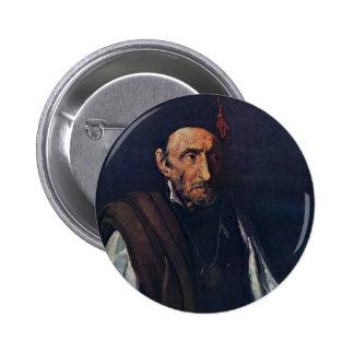 The Madman By Géricault Jean Louis Théodore (Best Pinback Button