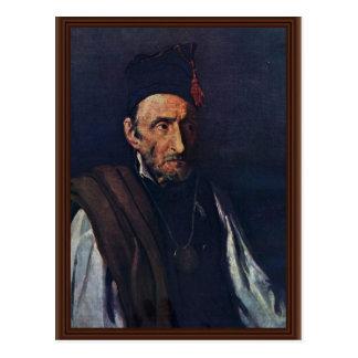 The Madman By Géricault Jean Louis Théodore (Best Postcard