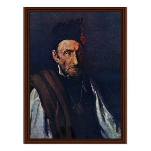 The Madman By Géricault Jean Louis Théodore (Best Postcards