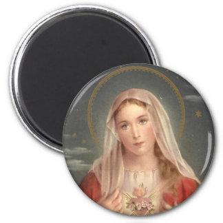 The Madonna 2 Inch Round Magnet