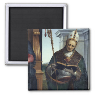 The Madonna and Child 2 Inch Square Magnet