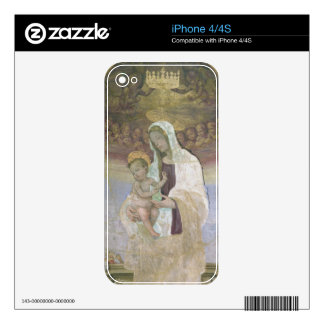 The Madonna and Child, a detail from the tabernacl Decals For The iPhone 4S